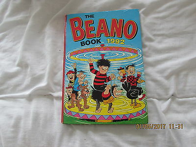 The   Beano     Book  1992  Very  Good  For  Age