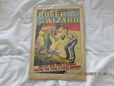 ROVER and  WIZARD COMIC  MAY 16th 1964  GOOD FOR AGE