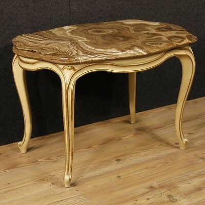 Low table furniture marble living room lacquered wood antique style 900 cabinet