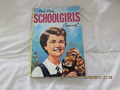 Our  Own  Schoolgirls   Annual  1963  Very Good For  Age