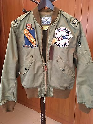 """Extremely Rare USAAF L-2 """"TEST SAMPLE"""" jacket by BUZZ RICKSON, Size 38"""