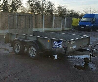 CHECK MODEL FLAT SHEET COVER 10FT  X  6FT  WILL FIT ON IFOR WILLIAMS TRAILERS