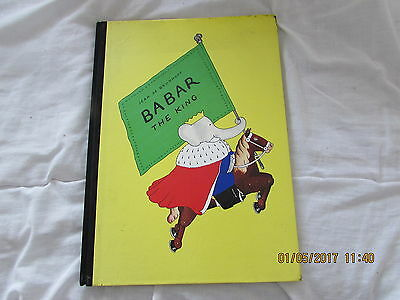 Babar   The   King    Book  1991  Very Good  Condition  Rare