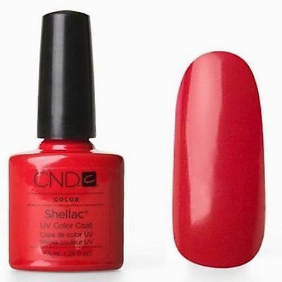 CND Shellac vernis a ongle semi-permanent 40508  wildfire Rouge