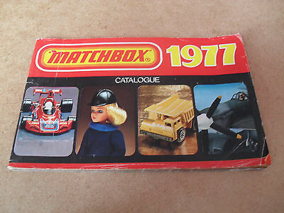 Matchbox Toy Catalogue 1977 Uk Edition V Good Condition For Age
