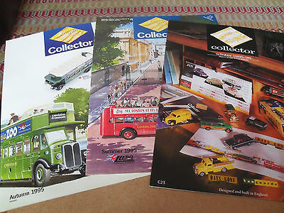 3 Lledo Days Gone Collectors Toy Catalogue 1995/6 Edition Excellent Condition