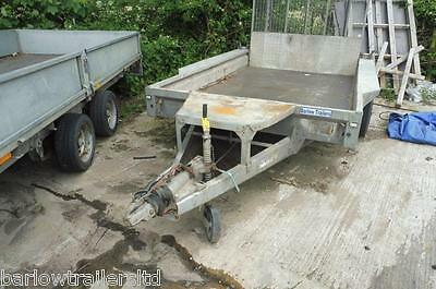 Used Ifor Williams GX106 Twin Axle Plant Trailer