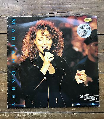 "Mariah Carey  ‎– MTV Unplugged EP Columbia ‎– 471869 1 12"" vinyl EP of 7 tracks"