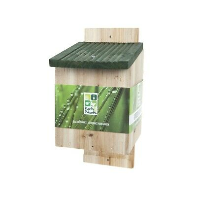 New Wall Mounted Wooden Garden Bat House Nesting Box Made By High Quality Timber