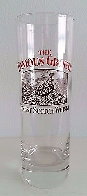 New The Famous Grouse Finest Scotch Whisky Glass