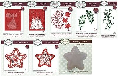 CREATIVE EXPRESSIONS Sue Wilson Craft Dies Festive Collection 2017 Christmas