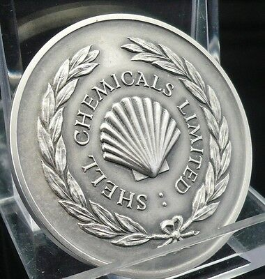 Shell Chemicals Silver Horticultural Attainment Medal 1948, Immaculate Condition