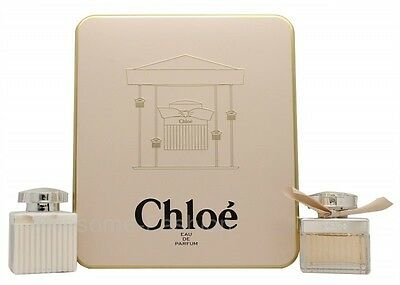 Chloé Signature Gift Set 50Ml Edp + 100Ml Body Lotion - Women's For Her. New