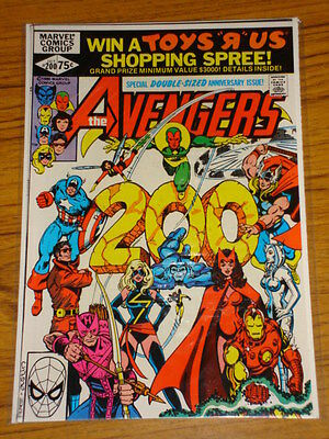 Avengers #200 Vol1 Marvel Comics Giant October 1980
