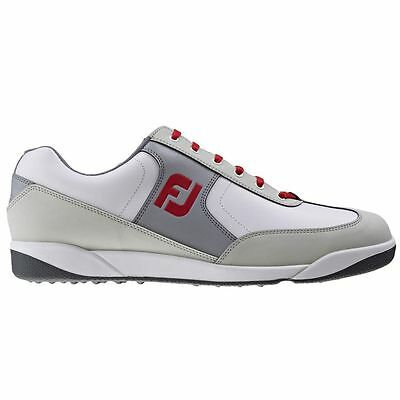 FootJoy AWD Mens Casual White/Grey/Red