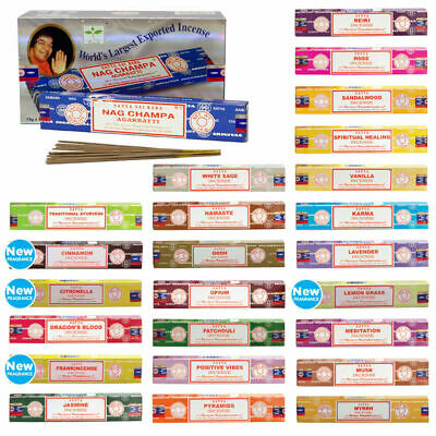 Satya Home Fragrance Scents Perfume Aroma Incense Sticks 15G - 1 Pack