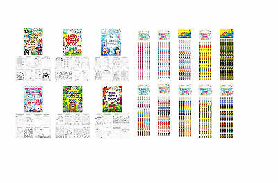 Party Packs Themes Birthday Party Puzzle, Favours, Pencils, Colouring HENBRANDT