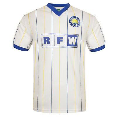 Leeds United AFC Official Football Gift Mens 1982 1986 1996 Retro Kit Shirt