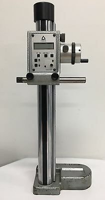 """Fowler 54-180-012 Trimos Mini-Vertical Electronic Height Gage, 0-12""""/0-300mm"""