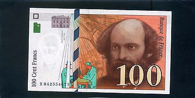 France French 100 Cent Francs Banknote 1998 UNC