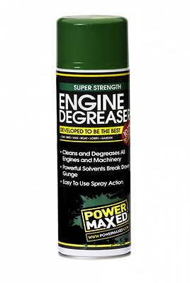Power Maxed Engine Degreaser Removes Oil Grease Grime Super Strength 500ml