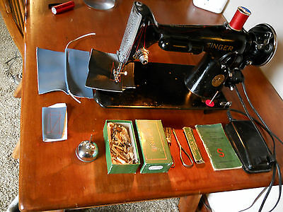 Great Singer 201 Sewing Machine. Industrial strength
