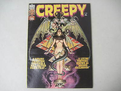 Creepy #88 Warren Horror Magazine 1977 Steve Hickman Cover