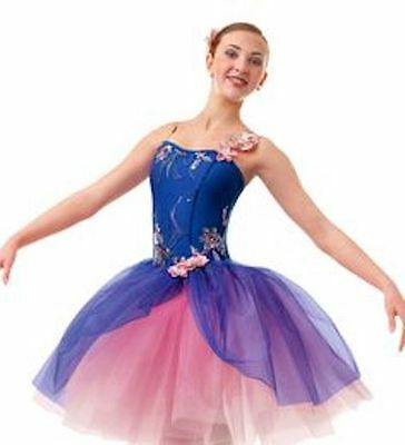 Curtain Call Costumes Ballet Dance Lyrical Outfit sz CLA