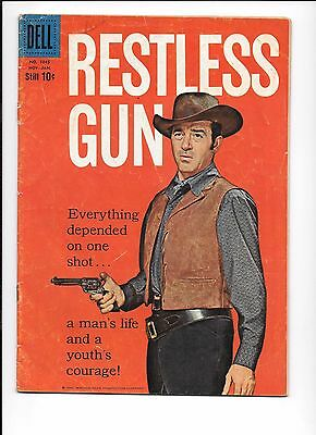 Restless Gun #3 Dell Four Color #1045 November 1960