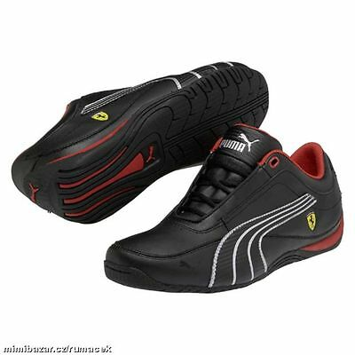 Chaussure de sport Junior PUMA Drift Cat 4 ref 304298 06 black silver P 39