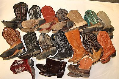 Lot COWBOY Boots Wholesale Resale USED REHAB Dan Post Dingo Tony Lama Ariat cYtY