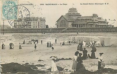 35 Saint-Malo Plage Grand Casino Municipal Animes