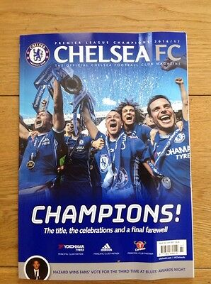 Chelsea Football  Magazine July 2017 Official Club Magazine