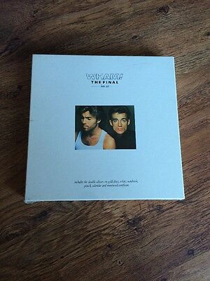 ❤️ULTRA RARE SEALED BOX SET❤️The Final~Wham! (George Michael)
