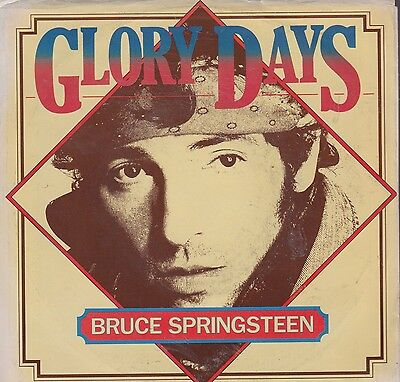 "rare USA  vinyl 7"" BRUCE SPRINGSTEEN GLORY DAYS STAND ON IT  columbia"
