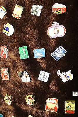 Misc lots of Pins (Mostly CNDN Olympic & Coca Cola Pins) (Total 99 Pins) (OOAK)