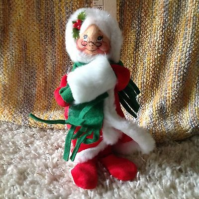 AnnaLee Mobility Doll Vintage Mrs. Claus