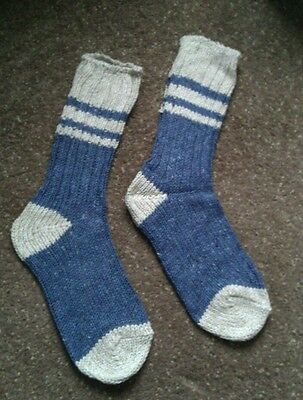2 pairs Womens/ Childrens hiking socks size 4-6  Bnwt made with wool for comfort