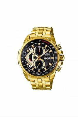Casio Edifice EF-558FG-1AV Men's Casual Watch Chronograph Date Stainless Steel