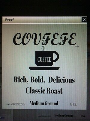 Uspto Trademark .   Covfefe Coffee, .coffee Substitutes,  Coffee Cafes / Houses