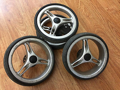 Baby Jogger City Mini replacement wheels (all 3)