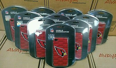 New lot of 10 Mobile Accessories Cardinals iPhone 4/4s Case