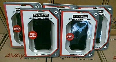 Lot of 5 Ballistic SG Black Cell Phone Case for iPhone 4/4S