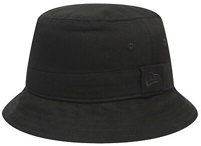 Cappello pescatore New Era Cap Bucket Hat Essential Cappellino Nero