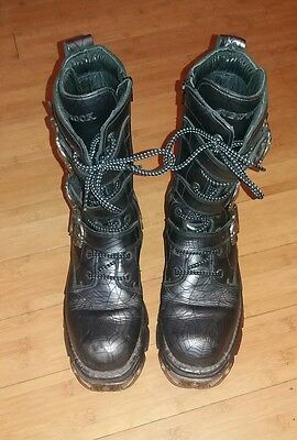 New Rock Boots size 8. Whitby Goth