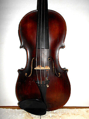 "Vintage Old Antique ""Steiner"" 2 Pc Curly Maple Back Full Size Violin"