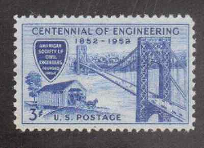 Scott #1012...3 Cent...Engineering...25 Stamps