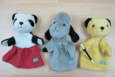 Sooty, Sweep (with Squeak) and Soo Soft Plush toy Hand / Glove Puppets