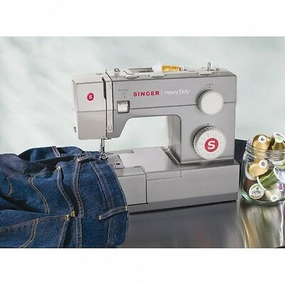 Sewing Machine Stitch Singer Portable Heavy Duty New Electric Sew Quick Singer