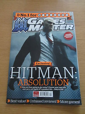 Games Master Magazine - Issue 254 - Sept 2012 - Hitman Absolution